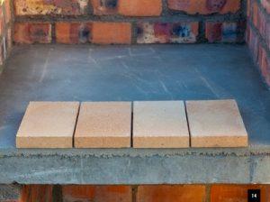 DIY braai - brick and tile