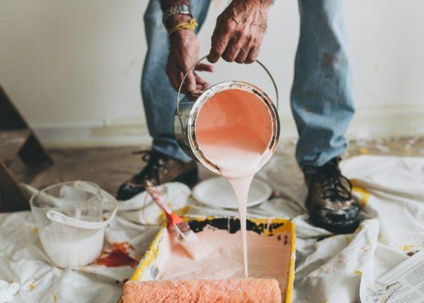 preparing for painting